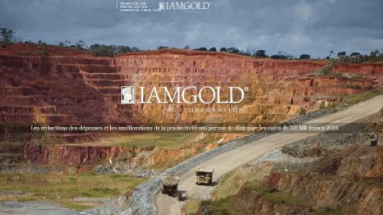 IAMGOLD annonce la date de la diffusion de ses résultats du troisième trimestre de 2019