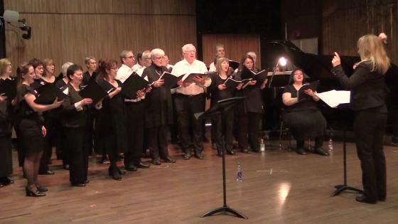 40 choristes et musiciens réunis pour un magnifique concert!